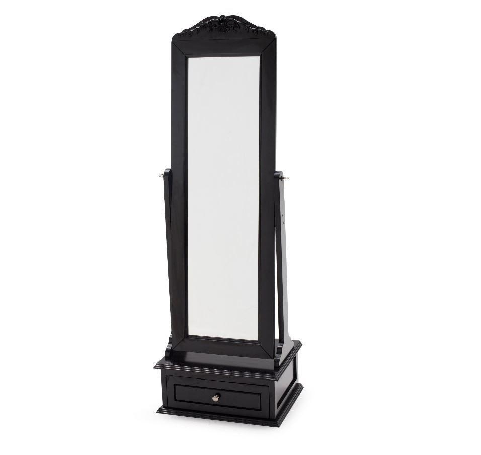 Cheval Mirror Jewelry Armoire Full Length Floor Standing Tilt With Regard To Cheval Mirror (Image 9 of 20)