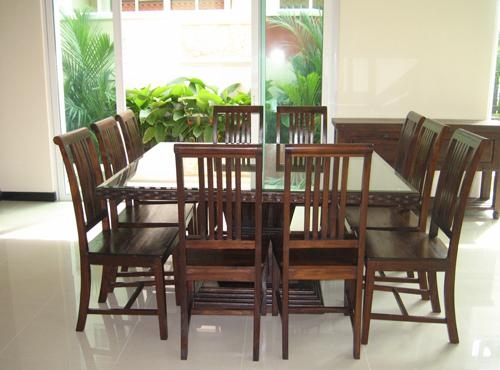 Chic Ideas Square Dining Table Seats 8 | All Dining Room Inside Dining Tables Seats  (Image 10 of 20)