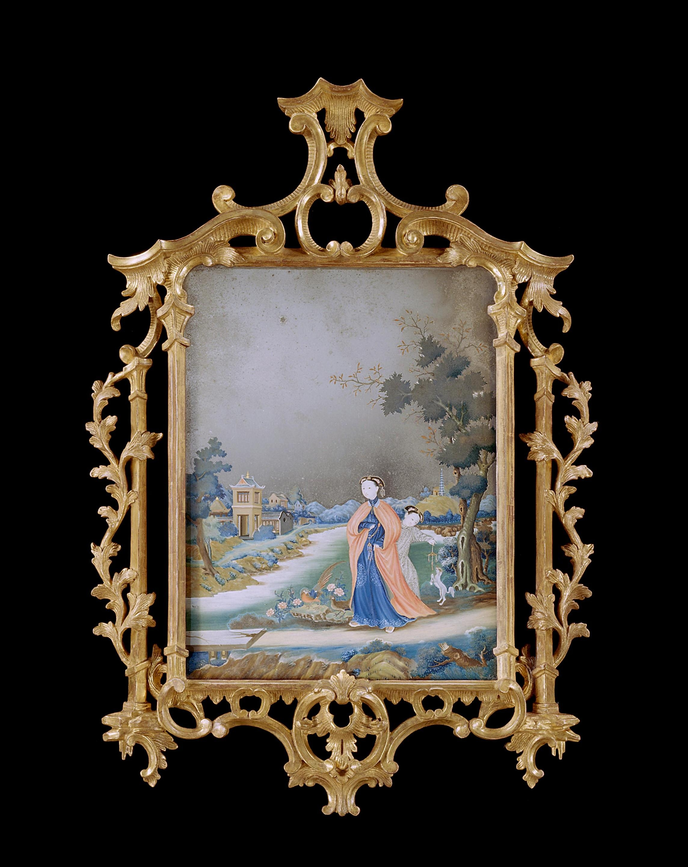 Chinese Paintings – The Uk's Premier Antiques Portal – Online In Chinese Mirrors (View 15 of 20)