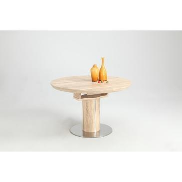 Chintaly Nora Dining Table In 3D And Oak – Beyond Stores Pertaining To Nora Dining Tables (View 12 of 20)