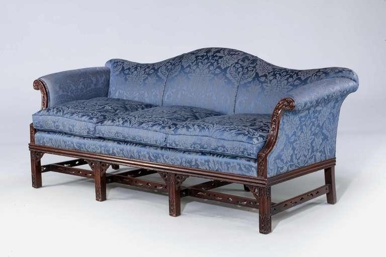 Featured Image of Chippendale Camelback Sofas