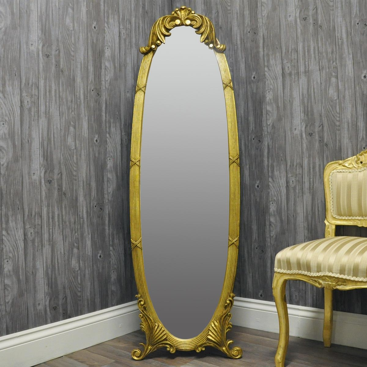 Choose From A Range Of Full Length Cheval Mirrors Regarding French Style Full Length Mirror (Image 9 of 20)