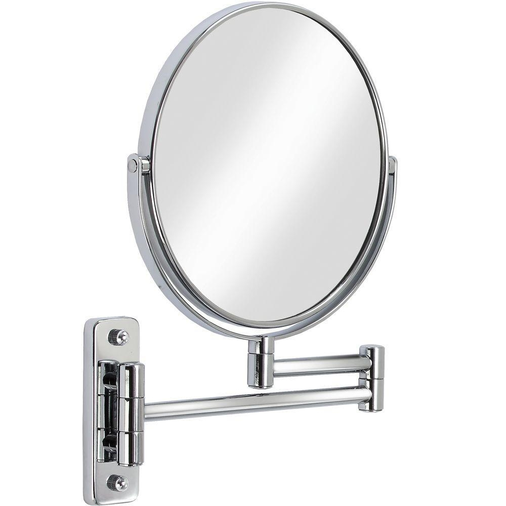 Chrome – Bathroom Mirrors – Bath – The Home Depot With Chrome Mirrors (Image 3 of 20)