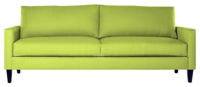 Clark Apartment Size Sofa – Midcentury – Sofas Apt2B In Chartreuse Sofas (View 11 of 20)
