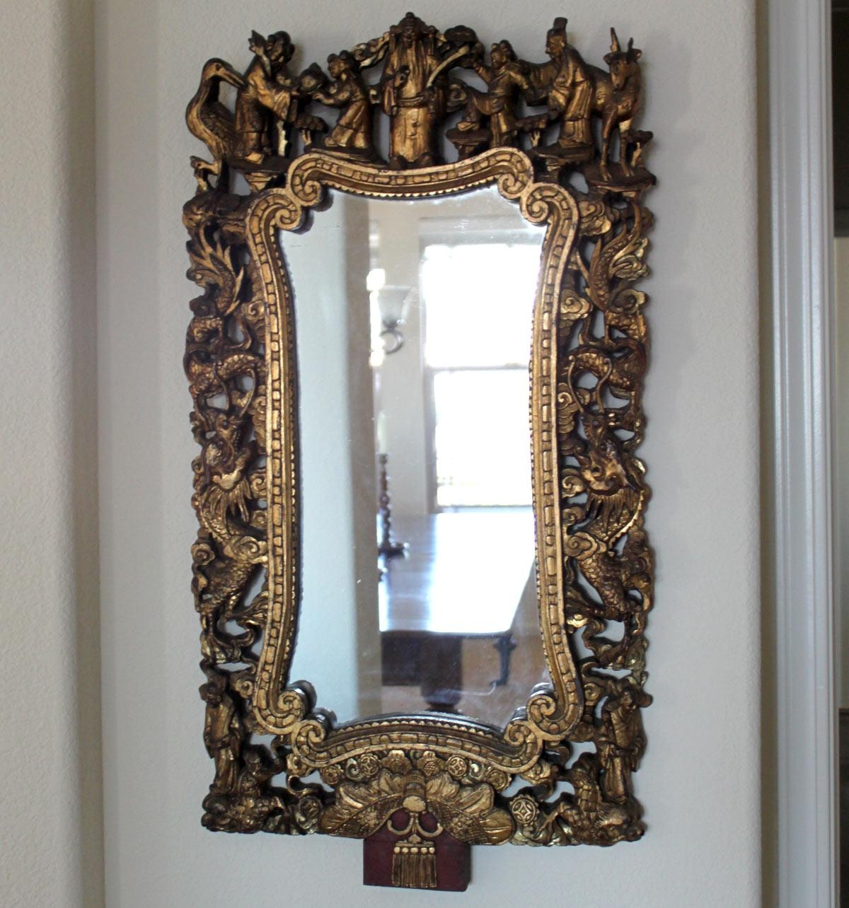 Classic Antique Mirrors Images – Reverse Search With Chinese Mirrors (View 20 of 20)