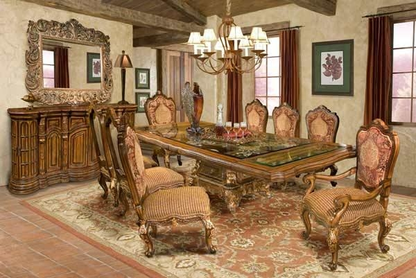 Classic Dining Room Furniture – Avetex Furniture Pertaining To Traditional Dining Tables (View 15 of 20)
