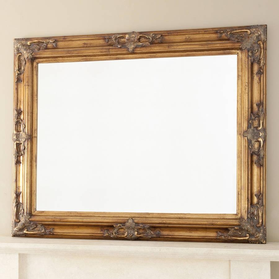 Classic Ornate Gold Mirrordecorative Mirrors Online Throughout Ornate Gold Mirrors (View 2 of 20)
