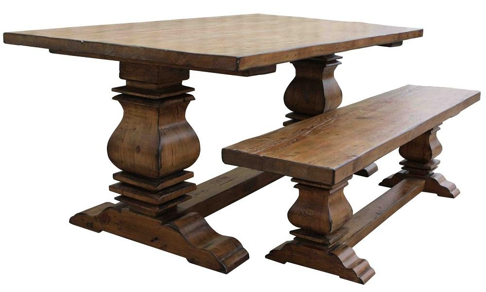 Classic Salvaged Wood Dining Table : Dining Table Furniture In Oval Reclaimed Wood Dining Tables (View 20 of 20)