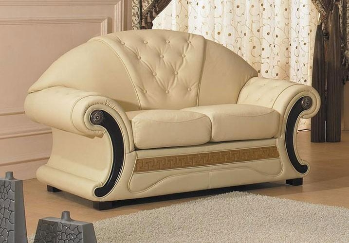 Cleopatra – Traditional Leather Sofa Set With Cleopatra Sofas (Image 5 of 20)