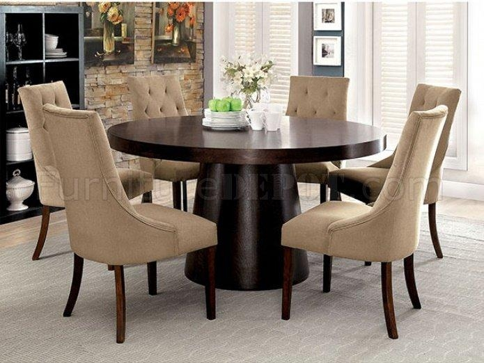 Cm3849T Havana Dining Table In Espresso W/options Pertaining To Havana Dining Tables (Image 4 of 20)