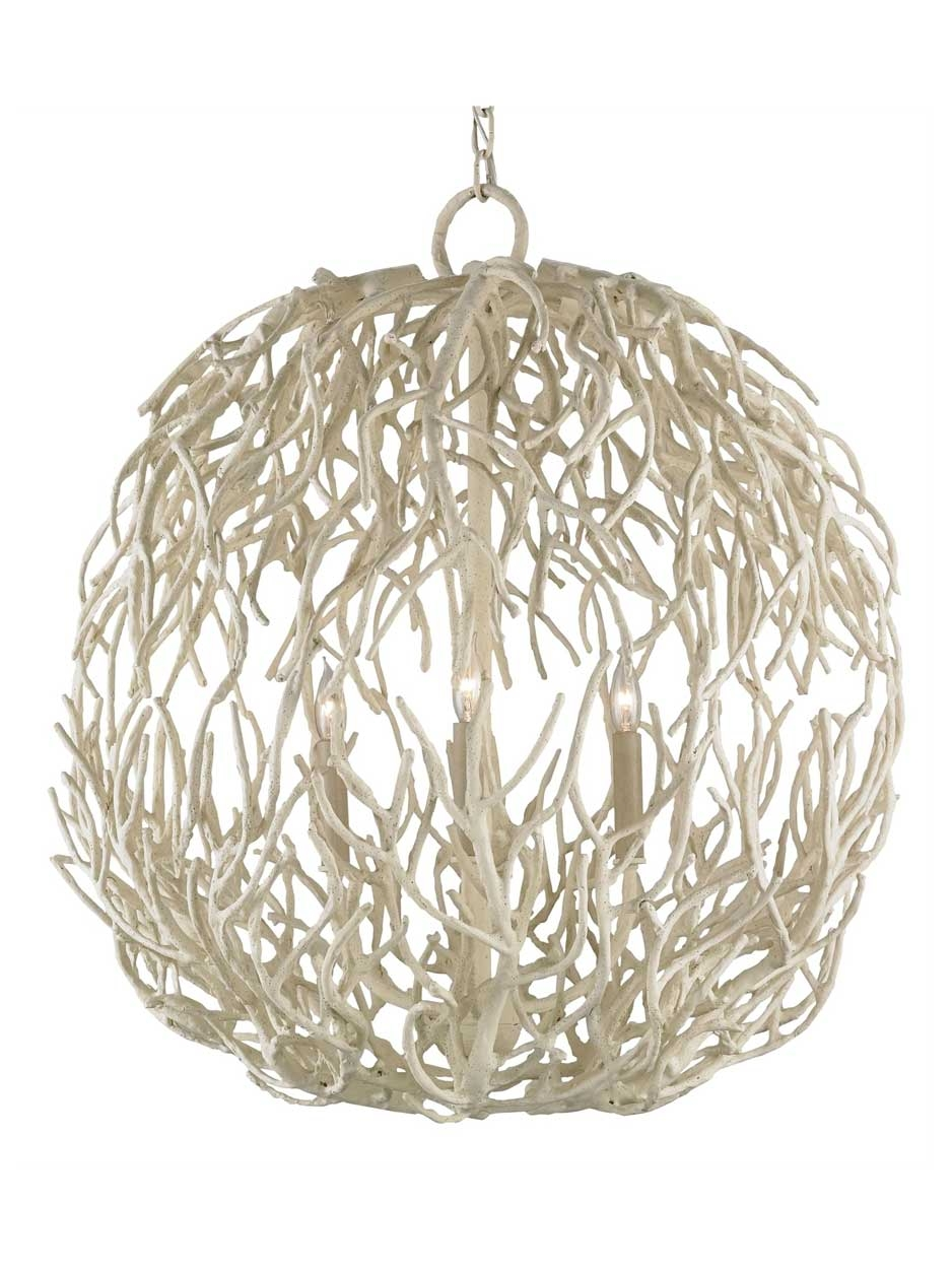 Coastal Life Orb Chandelier Cottage Home For Orb Chandeliers (Image 15 of 25)