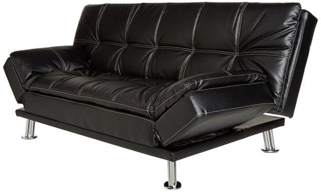 Coaster Furniture 300281 Contemporary Futon Sleeper Sofa Bed In Intended For Coaster Futon Sofa Beds (Image 8 of 20)