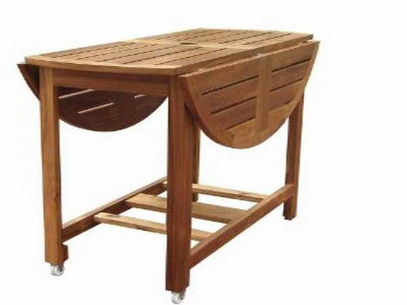 Collapsible Dining Table In Oval Folding Dining Tables (Image 8 of 20)