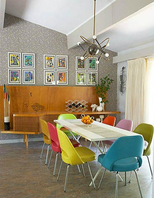 Colorful Dining Chairs | Chairs To Decorate Throughout Colourful Dining Tables And Chairs (Image 11 of 20)