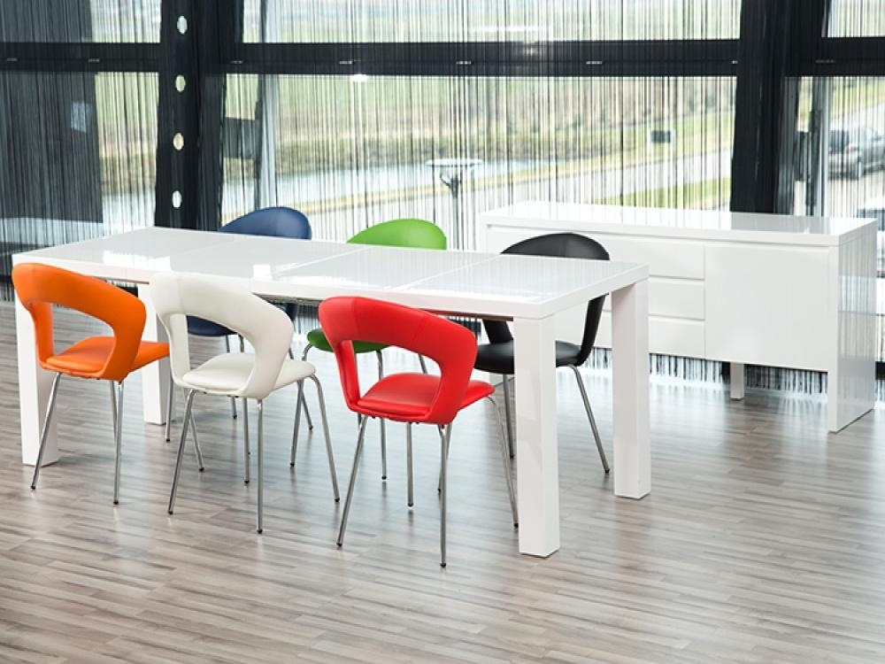 Coloured Kitchen Table And Chairs | Winda 7 Furniture Intended For Colourful Dining Tables And Chairs (Image 12 of 20)