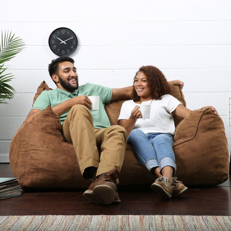 Comfort Research Big Joe Imperial Bean Bag Sofa & Reviews | Wayfair Intended For Big Joe Sofas (Image 14 of 20)