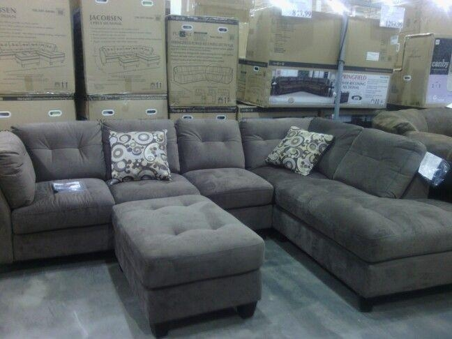 Comfy Sectional Couch @ Costco | Sectionals | Pinterest | Comfy Pertaining To Costco Leather Sectional Sofas (Image 3 of 20)