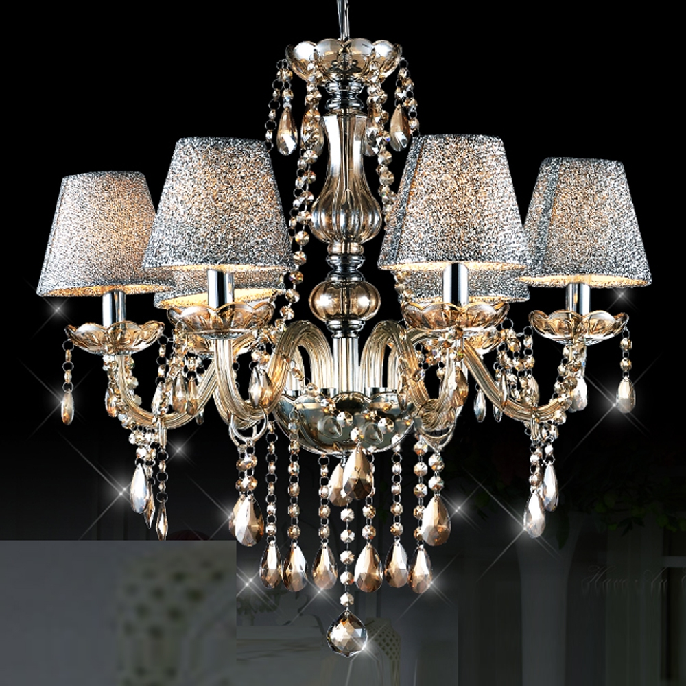Compare Prices On Amber Lamp Shades Online Shoppingbuy Low Price Intended For Chandelier Lamp Shades (Image 14 of 25)
