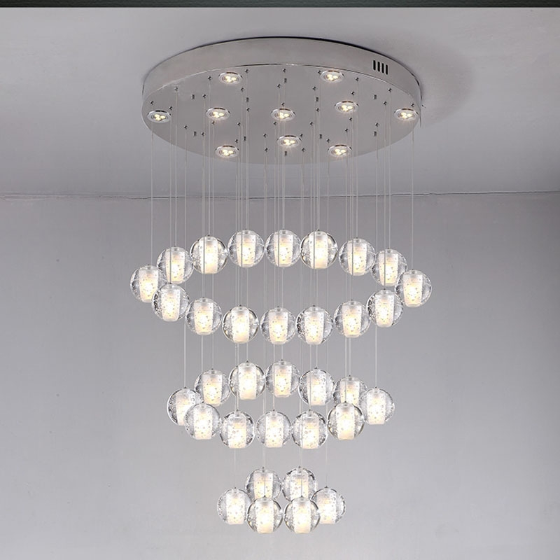 Compare Prices On Crystal Ball Chandelier Online Shoppingbuy Low Regarding Crystal Ball Chandeliers Lighting Fixtures (Image 5 of 25)