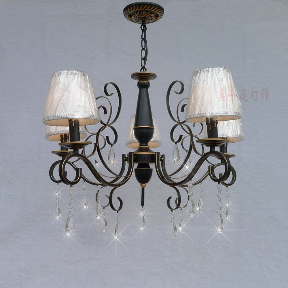 Compare Prices On Crystal Chandelier Shades Online Shoppingbuy With Chandelier With Shades And Crystals (Image 14 of 25)