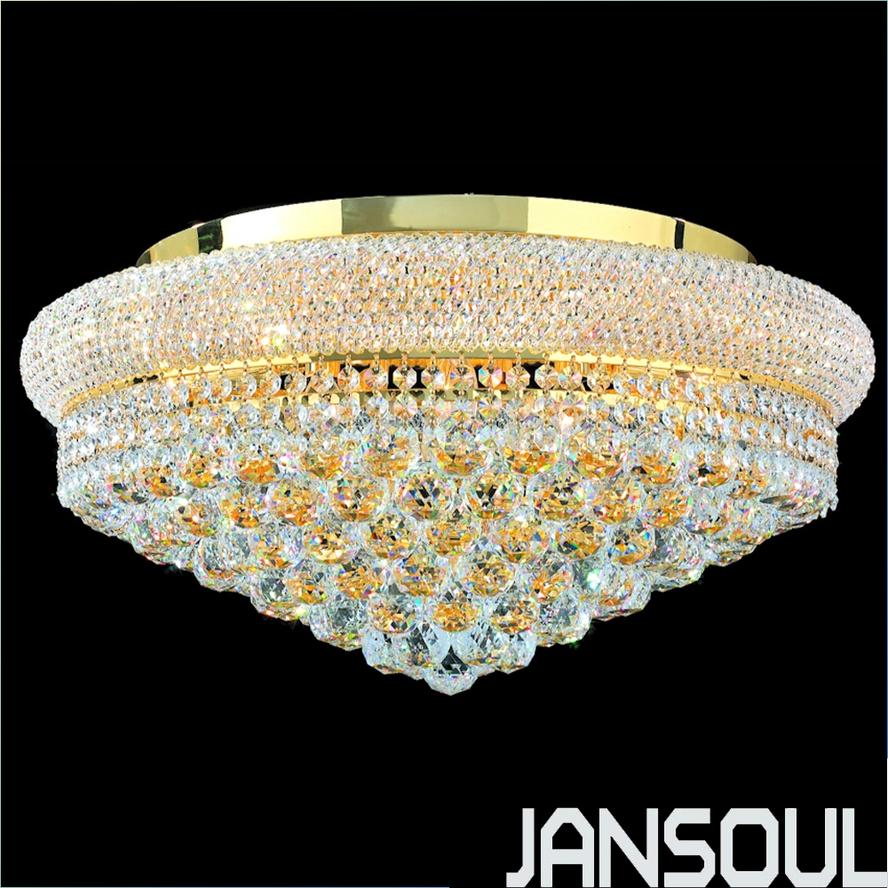 Compare Prices On Crystal Flush Mount Ceiling Light Online With Flush Chandelier Ceiling Lights (Image 9 of 25)