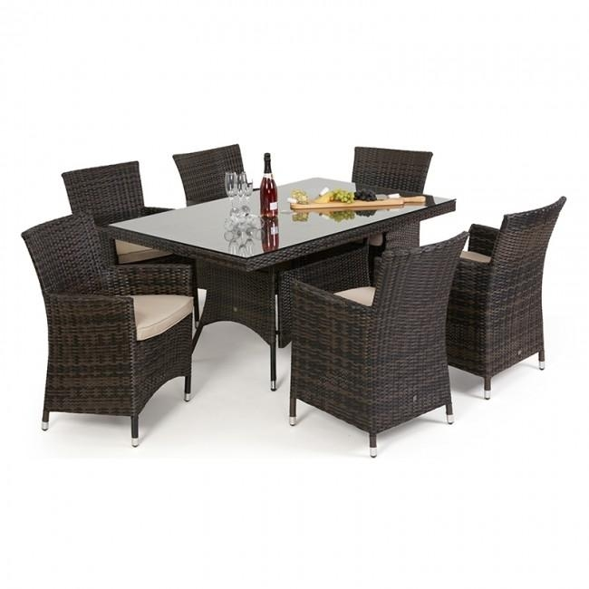 Compare Prices On Glass Dining Table China  Online Shopping/buy Inside Wicker And Glass Dining Tables (Image 6 of 20)