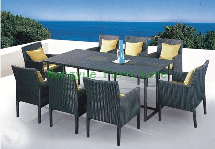 Compare Prices On Glass Dining Table China  Online Shopping/buy With Regard To Wicker And Glass Dining Tables (Image 7 of 20)