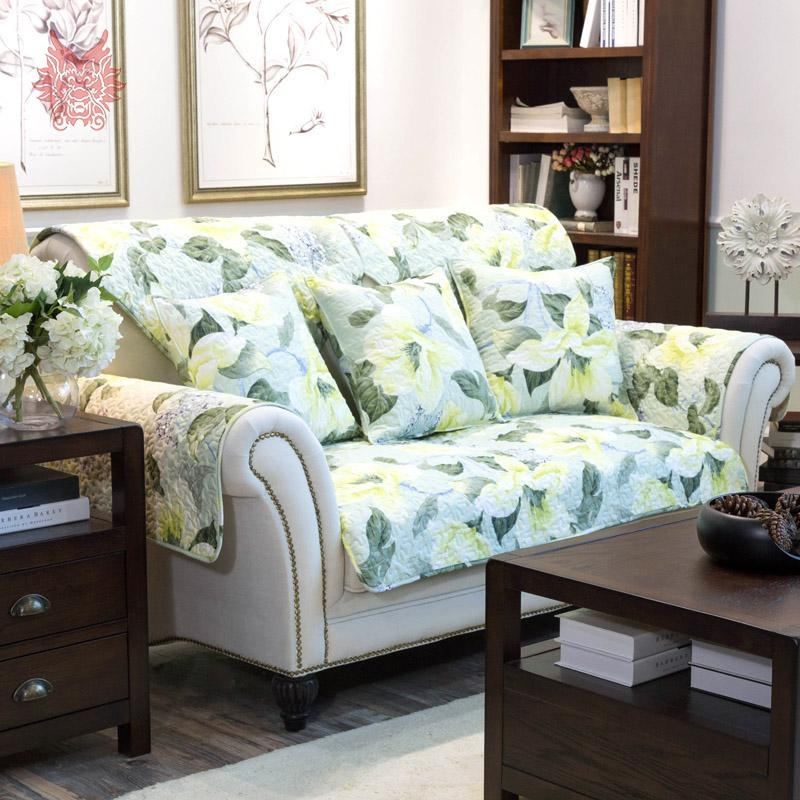 Compare Prices On Green Slipcovers Online Shopping/buy Low Price In Slipcover Style Sofas (View 20 of 20)