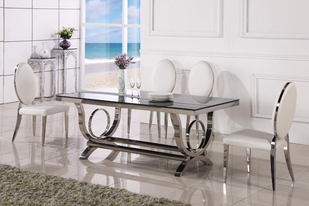 Compare Prices On Modern Dining Table  Online Shopping/buy Low Pertaining To Cheap Contemporary Dining Tables (Image 8 of 20)