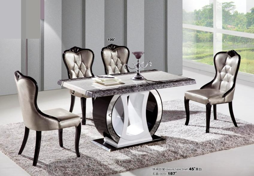 Compare Prices On Stone Top Dining Room Table  Online Shopping/buy For Cheap Contemporary Dining Tables (Image 9 of 20)