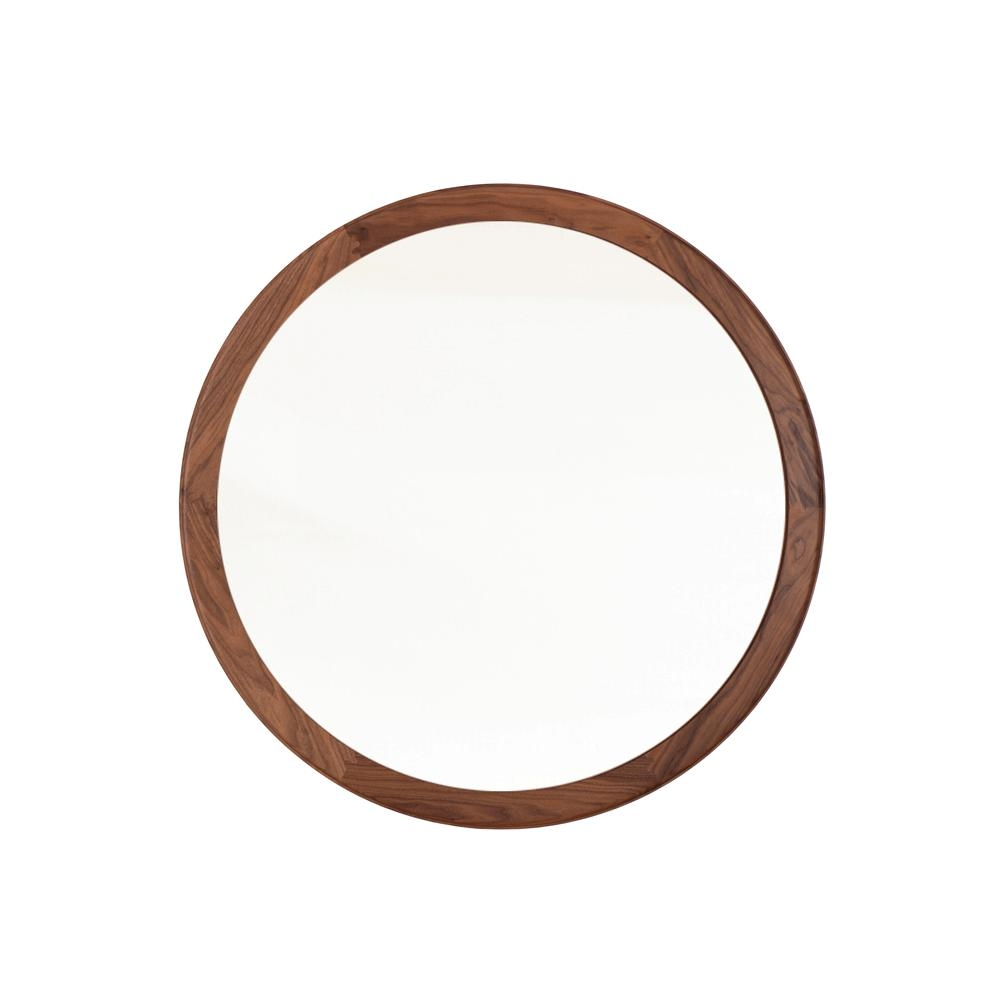 Coniston Large Round Mirror | Matthew Hilton | The Future Perfect With Large Circular Mirror (Image 3 of 20)