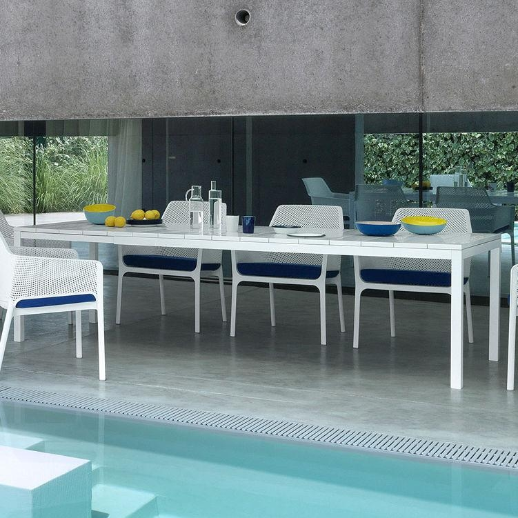 Contemporary Dining Table / Polypropylene / Rectangular / Garden Intended For Rio Dining Tables (Image 4 of 20)