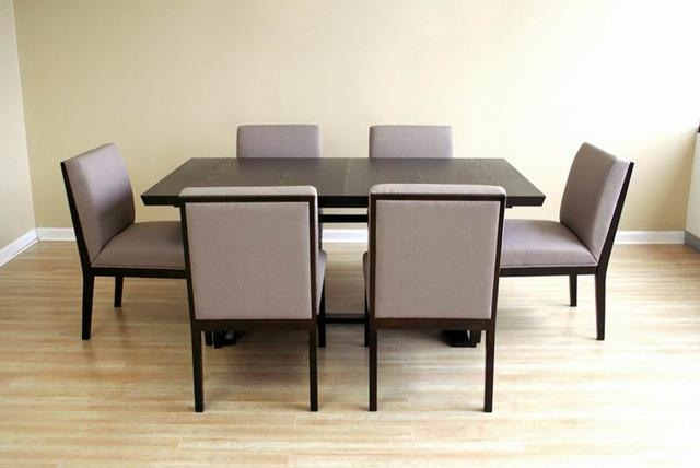 Contemporary Dining Table Sets With Regard To Contemporary Dining Tables Sets (Image 5 of 20)