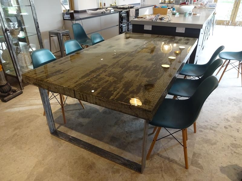 Contemporary Dining Tables London | H & H Modern Dining Tables For Dining Tables London (Image 9 of 20)
