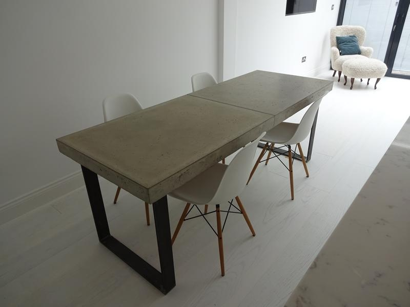 Contemporary Dining Tables London | H & H Modern Dining Tables Regarding Dining Tables London (Image 10 of 20)