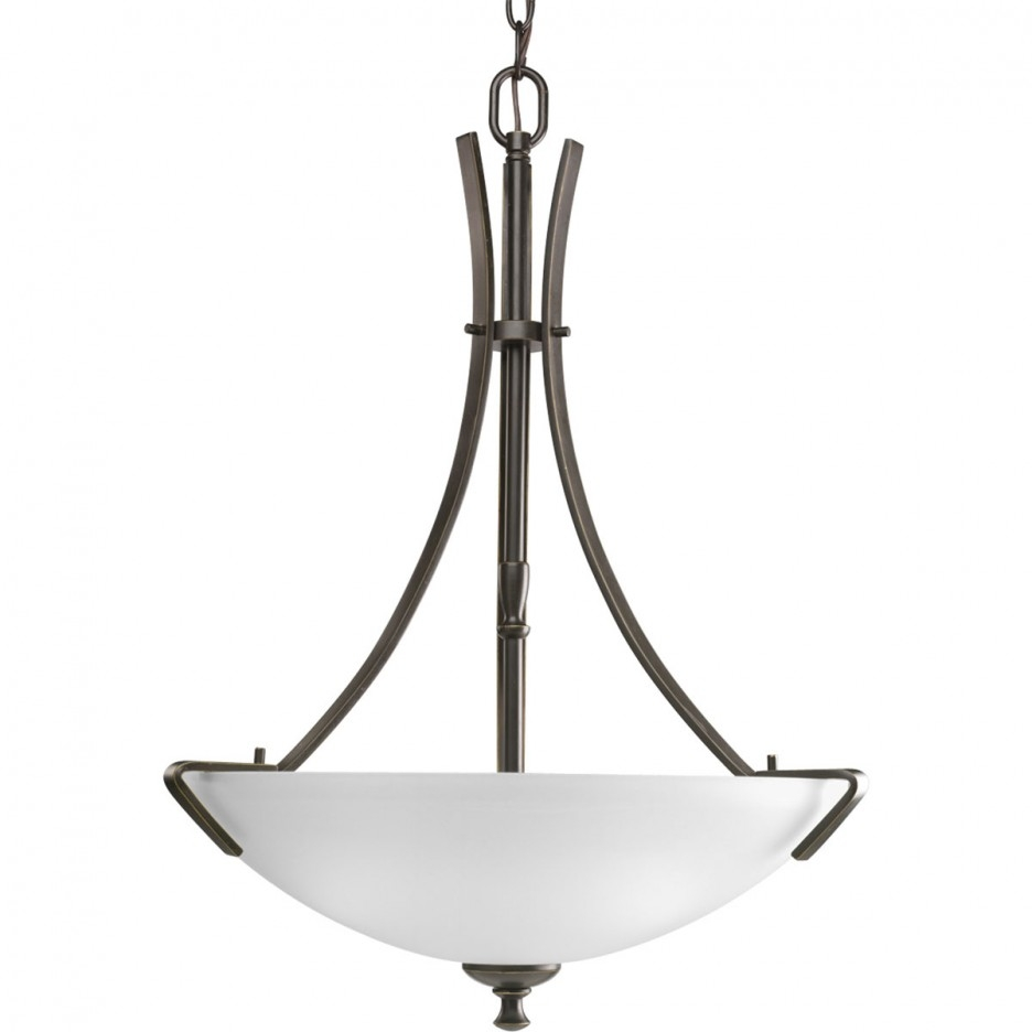 Contemporary Foyer Lighting For Inverted Pendant Chandeliers (Image 10 of 25)