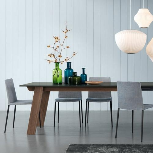 Contemporary Furniture From Belvisi Furniture Cambridge With Regard To Victor Dining Tables (Image 4 of 20)