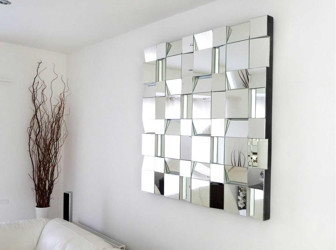 Contemporary Mirrors For Living Room Wall Mirrors For Living Room With Mirrors Contemporary (Image 10 of 20)