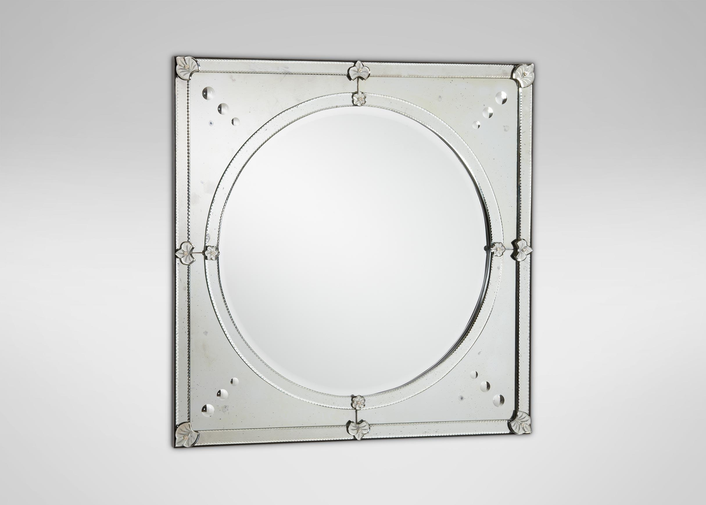 Contemporary Venetian Mirror | Mirrors With Regard To Mirrors Venetian (Image 3 of 20)