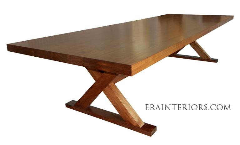 Contemporary Walnut Dining Table – Era Interiors Within Walnut Dining Tables (Image 8 of 20)