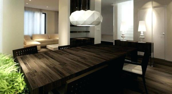 Contemporary Wood Dining Table – Thelt (Image 4 of 20)