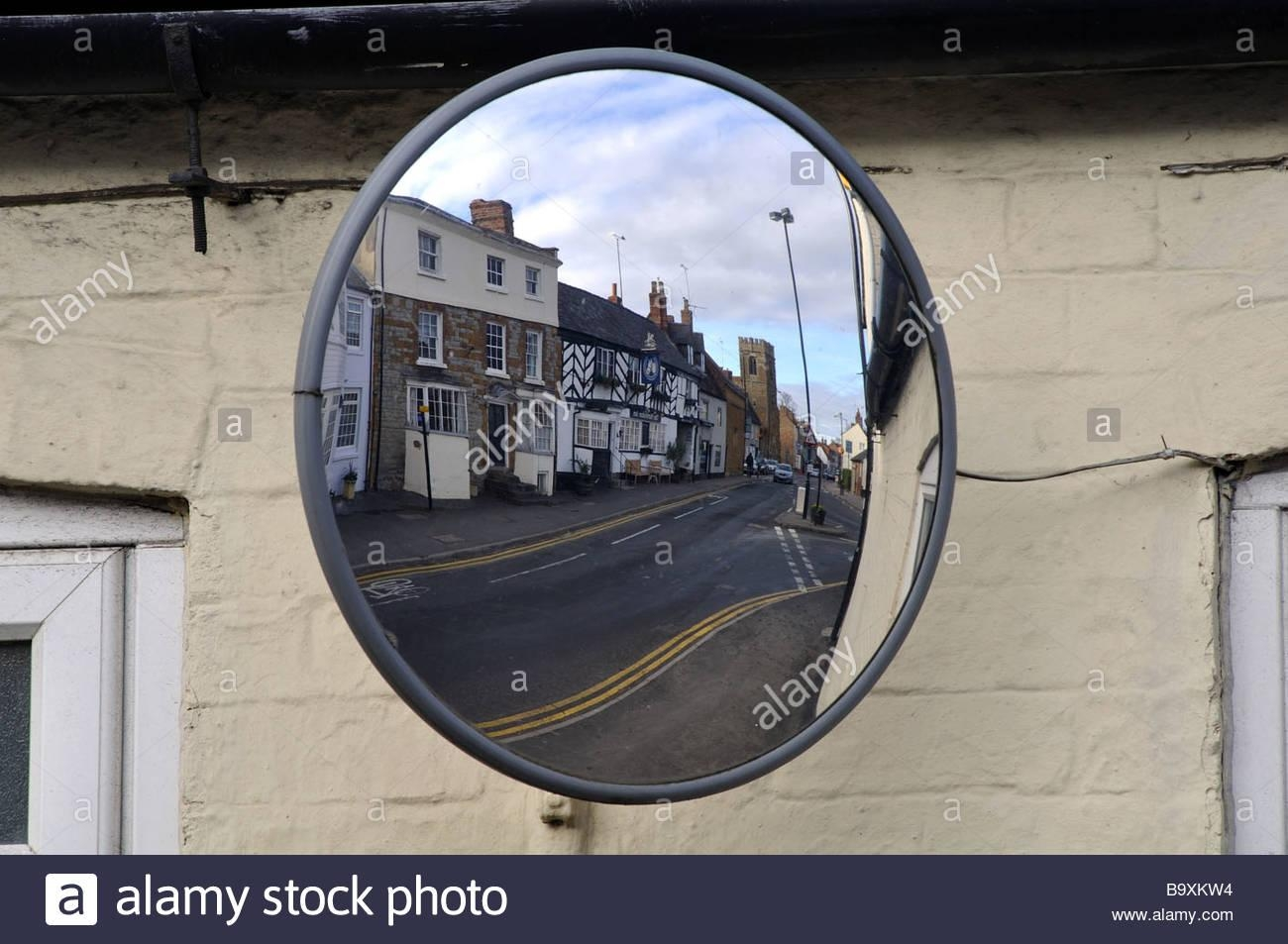 Convex Car Mirror Stock Photos & Convex Car Mirror Stock Images Inside Convex Mirror Buy (Image 5 of 20)