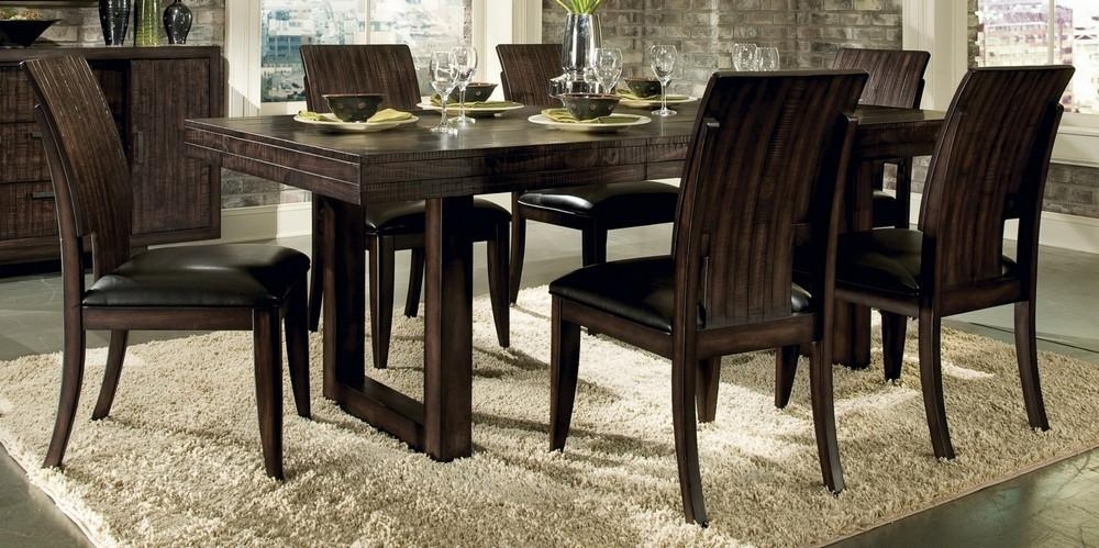 Cool 48 Round Pedestal Dining Table Design Ideas Modern Fancy On For Rectangular Dining Tables Sets (View 19 of 20)