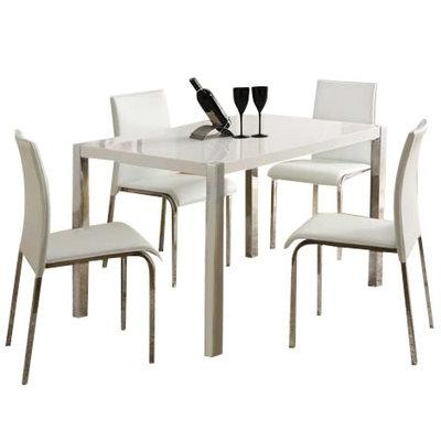 Cool Cheap Dining Table And Chair Sets Dazzling Glass Chairs With Regard To Cheap Dining Tables (Image 9 of 20)