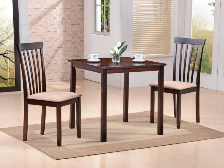 Cool Dining Table With Two Chairs Awesome Seat Furniture Long Pertaining To Two Chair Dining Tables (View 9 of 20)