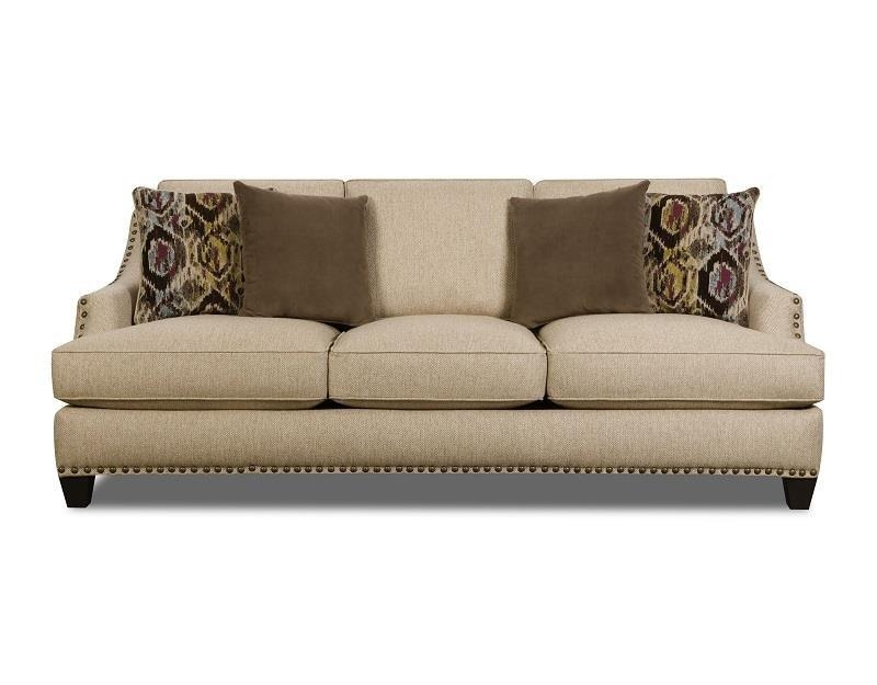 Corinthian Jute Sofa – Great American Home Store – Sofas Throughout Corinthian Sofas (View 4 of 20)