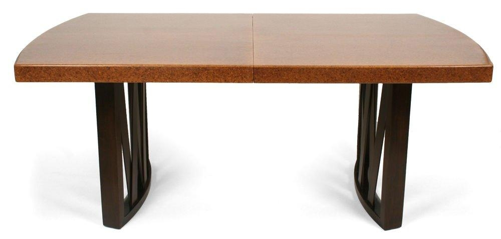 Cork Top Dining Tablepaul Frankl For Johnson Furniture Co For Intended For Cork Dining Tables (Image 9 of 20)
