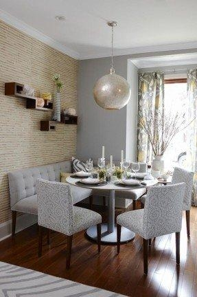 Corner Bench Dining Table Set – Foter Inside Dining Room Bench Sofas (View 10 of 20)