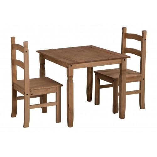 Corona Rio Dining Table & 2 Chairs Intended For Rio Dining Tables (Image 5 of 20)