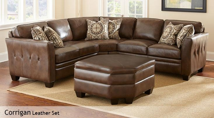 Corrigan | Costco Inside Costco Leather Sectional Sofas (Image 4 of 20)